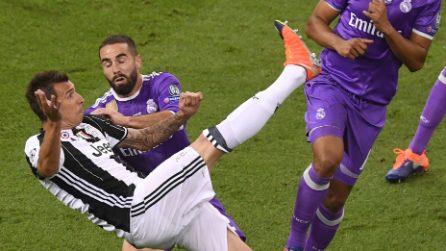 La prodezza di Mandzukic in finale contro il Real Madird
