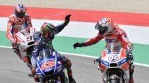 MotoGP, Dovizioso trionfa al Mugello, Vinales e Petrucci sul podio