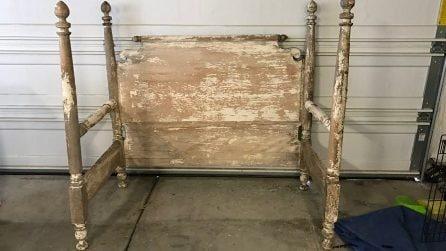 Trova nella spazzatura il telaio di un letto: il modo in cui lo trasforma è sensazionale