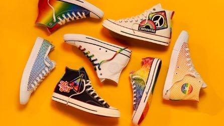 Converse Pride Collection, arrivano le Chuck taylor arcobaleno