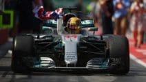 Hamilton passeggia a Montreal, Vettel rimonta ma rimane fuori dal podio