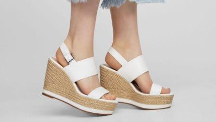 La scarpa della settimana: le espadrillas con la zeppa per l'estate 2017