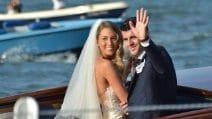 Le foto social del matrimonio di Alvaro Morata e Alice Campello