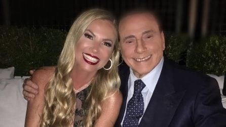 Il party per la chiusura di Mattino 5, presente anche Silvio Berlusconi