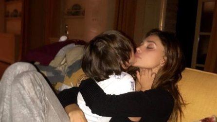 Le foto di Belen Rodriguez con il figlio Santiago