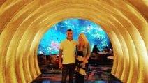 Le vacanze di Mauro Icardi e Wanda Nara a Dubai