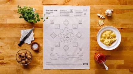 """""""Cook this page"""": la carta forno di IKEA per chi non sa cucinare"""