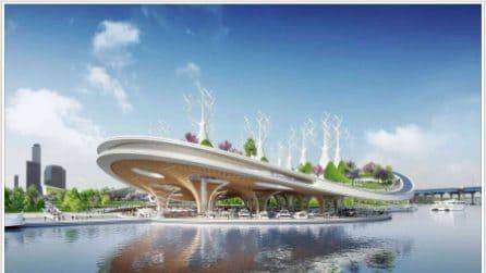 Manta Ray: il nuovo terminal dei traghetti di Seul