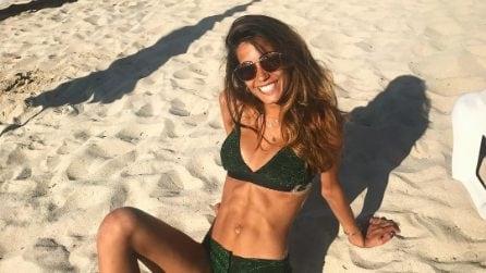 Federica Nargi in bikini dopo essere diventata mamma
