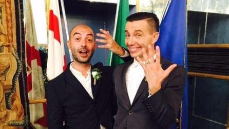 Le foto del matrimonio di Diego Passoni e Piermario Simula