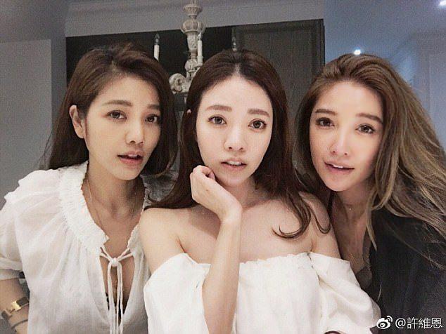 Le sorelle Hsu, 41, 40 e 36 anni (da sinistra a destra).
