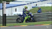 MotoGP Sachsenring, ancora guai tecnici per Valentino Rossi