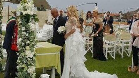 Le foto del matrimonio di Roberta Bruzzone e Massimo Marino