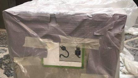 Cappella Sansevero, arrivano le panchine con le spine per la ricarica del telefonino