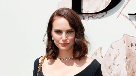 Natalie Portman alla sfilata Dior dopo il parto