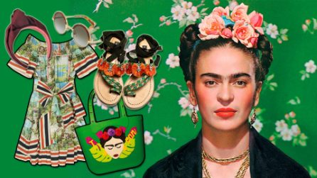 Lo stile di Frida Kahlo per l'estate 2017