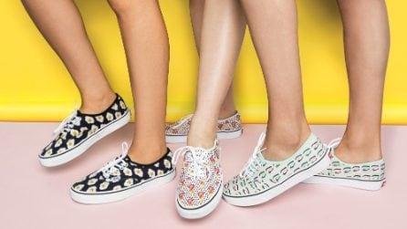 Le scarpe di tela per l'estate 2017
