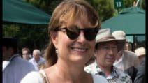 Il look bianco di Carole Middleton a Wimbledon