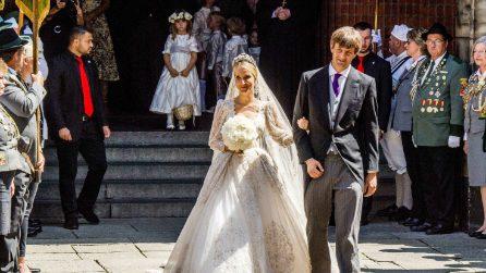 L'abito da sposa di Ekaterina Malysheva