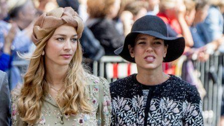 Charlotte Casiraghi e Beatrice Borromeo al matrimonio del principe di Monaco