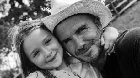 Le foto più belle di Harper, la figlia di David e Victoria Beckham