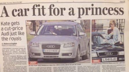 L'Audi Cabrio di Lady Diana finisce all'asta
