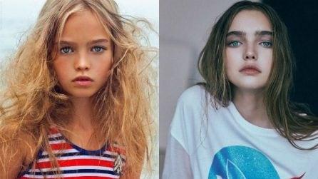 Come sono diventate le ex bambine più belle del mondo