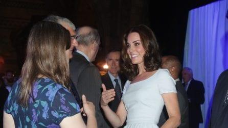 """Kate Middleton in versione """"fatina"""" all'inaugurazione del museo"""