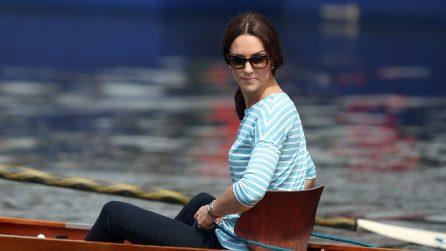 Kate Middleton si diverte a fare la canottiera in Germania