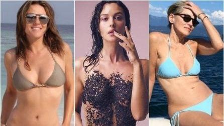 Le foto delle più belle star di 50 anni in bikini