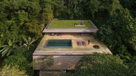 Jungle House: la casa con piscina panoramica a sfioro e vista mozzafiato sulla foresta brasiliana