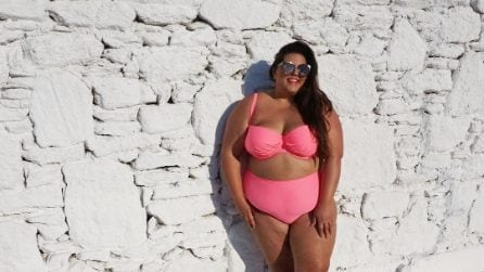 Callie Thorpe, la plus-size che posa per Vogue