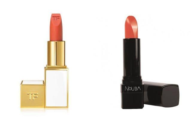 Tom Ford, Ultra Rich Lip Color in Solar Affair (46,90€) - Alternativa low cost: Nouba, Velvet Touch Lipstick n.11 (23,95€)