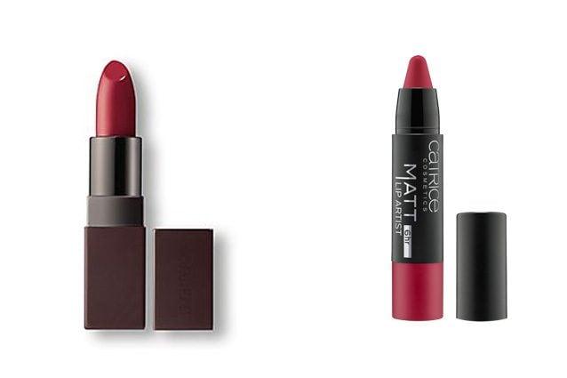 Laura Mercier, Velour Lovers Lip Colour in Temptation (32,50€) - Alternativa low cost: Catrice, Matt Lip Artist in Merl'oh! (4,16€)