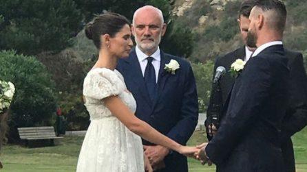 L'abito da sposa e il matrimonio di Bianca Balti