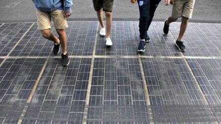 A Parigi le strade producono energia pulita gratuita