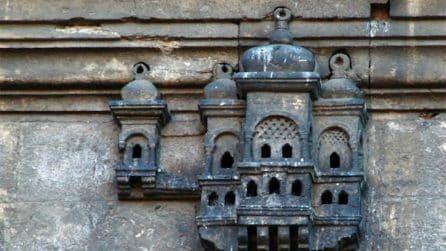 Nidi di uccelli come spettacolari architetture ottomane in miniatura