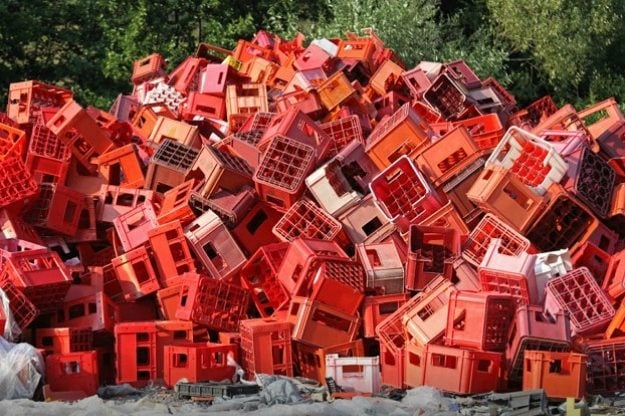 Here's how to reuse plastic crates