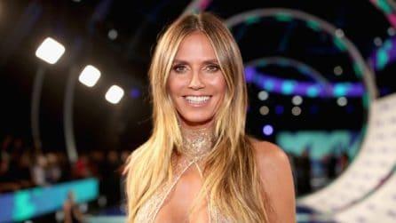 L'abito sexy di Heidi Klum ai VMA'S 2017
