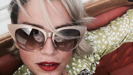 Emma Marrone in versione diva a Venezia