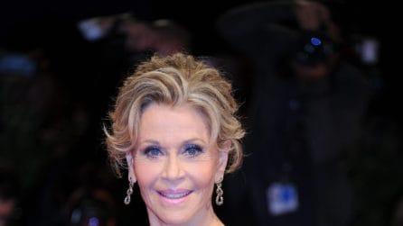 Jane Fonda, a 79 anni incanta a Venezia