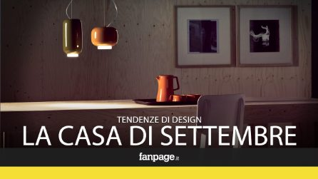 Verde bosco e ruggine: le tendenze del design per settembre