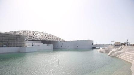 Louvre Abu Dhabi vicino all'apertura