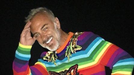 Le magliette psichedeliche di Gianluca Vacchi
