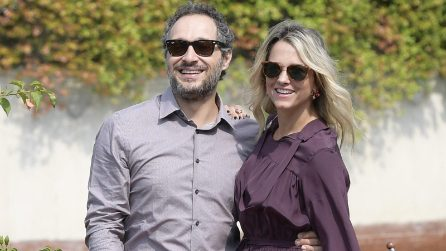 Le foto di Claudio Santamaria e Francesca Barra a Venezia 74