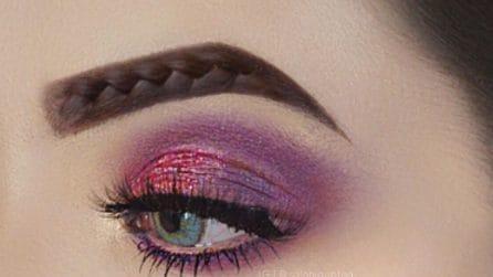Braided brows, le sopracciglia intrecciate che fanno impazzire Instagram