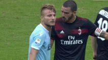 """Bonucci a Immobile: """"Non si fa così, non si fa così"""""""