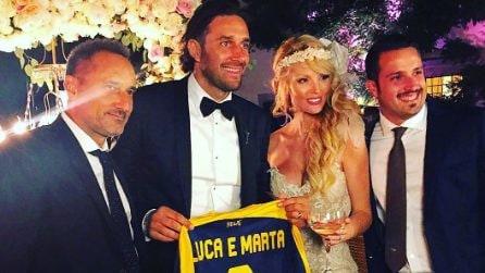 Il matrimonio di Luca Toni e Marta Cecchetto