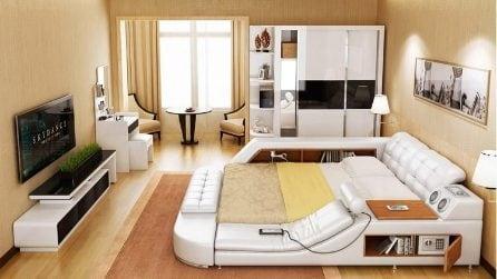 Il letto perfetto per i più pigri