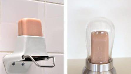 Un'invenzione geniale: il porta sapone che rivoluziona il modo di lavarsi le mani